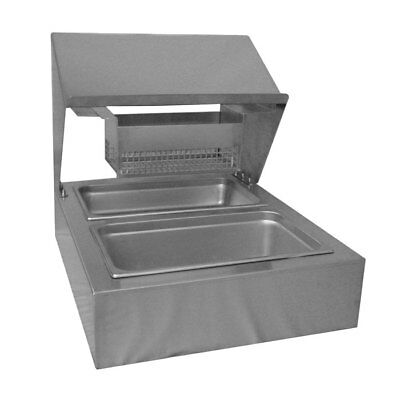 PVI FS BSS Stainless Countertop Bread & Batter Station