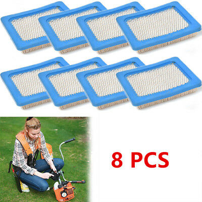 8 * Air Filters For Briggs & Stratton 491588 491588S 5043 5043D 399959 119-1909