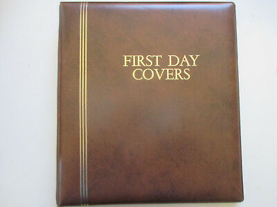 N0---12 --Fdc  Album  Full  Of Covers   7  Pages  --With   25   Fdc's  Included
