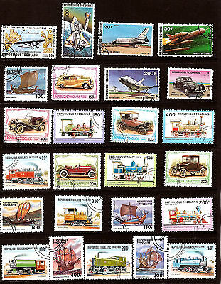 TOGO THE TRANSPORTS: Aircraft,trains,boats,cars 324T1