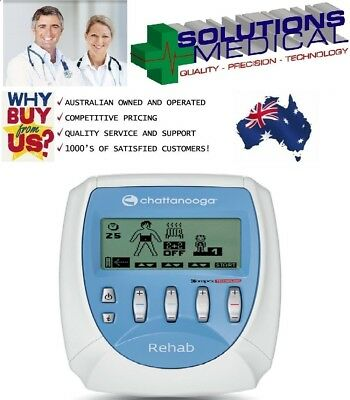Chattanooga Compex Pro Rehab Electro Muscle Stimulation Vascular Diseases