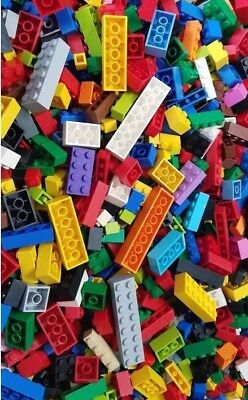 ☀️Lego 500 Bulk ALL BRICKS BLOCKS LOT Mixed Sizes Basic Building Pieces Mix #3
