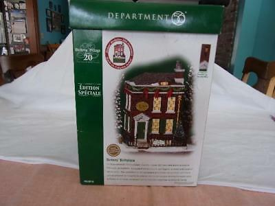 Dept. 56 Dickens Village Series 20 Dickens' Birthplace w/ box Special Edition