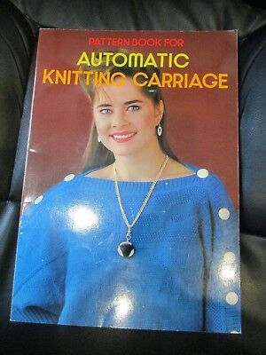 Brother Pattern Book for Automatic Knitting Carriage, pb