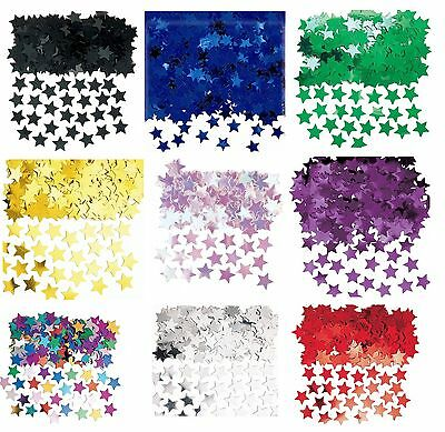 Metallic Stardust STARS CONFETTI Table Decoration Birthday Wedding Party (14g)1C