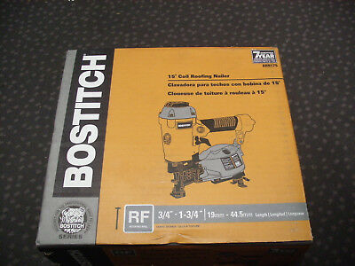 Brand New Bostitch Brn175 Coil Roofing Nailer Rf 15 Degree Free Shipping