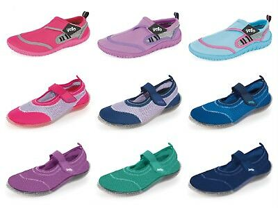 Womens Aqua Beach Surf Wet Water Shoes Swimming Sports Beach Pool Socks Size 3-8