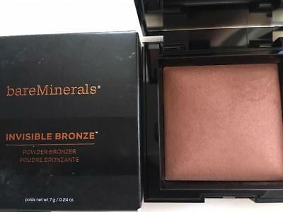 BareMINERALS Invisible Bronze Powder Bronzer Full Size DARK TO DEEP 0.24 oz.