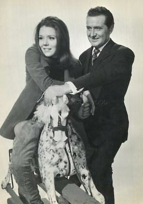 PATRICK MacNEE DIANA RIGG THE AVENGERS  1961 -1969 VINTAGE PHOTO R80 #8