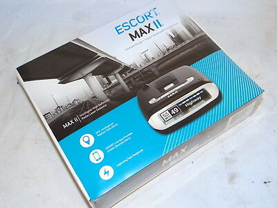 BRAND NEW SEALED Escort Max II Intelligent High Definition Radar Laser Detector