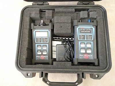 Photonix Technologies PX-B2xx Optical Power Meter & PX-C 205 Series Laser Source