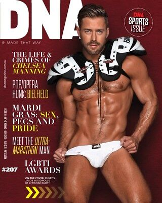 Gay interest magazine DNA #207 muscle physique