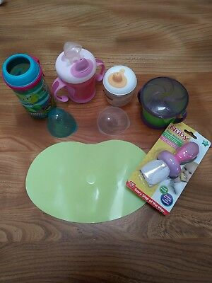 BN Nuby Nibbler and baby feeding/weaning bundle