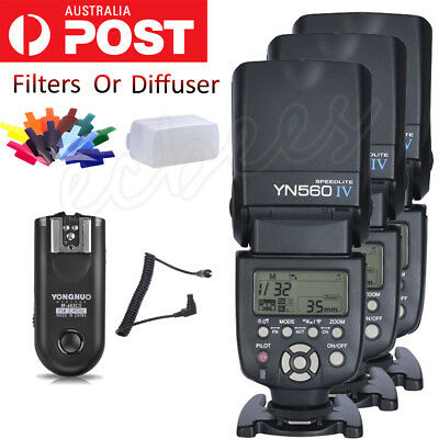 YONGNUO YN560 IV Flash Speedlite Kit/RF-603 II C3 Wireless Controller For Canon