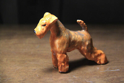 Lakeland Terrier, Welsh Terrier,OOAK artist ceramic. Tatiana Myers