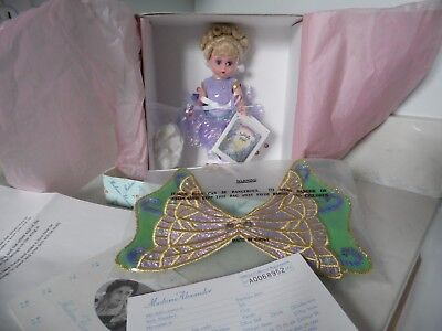 """Madame Alexander Purple Butterfly Queen # 25670 8"""" Doll *MINT IN BOX*"""