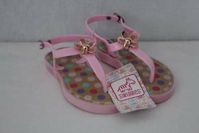 477703b88 NEW Toddler Girls Sandals Size 10 Pink Polka Dot Summer Casual Kids Shoes
