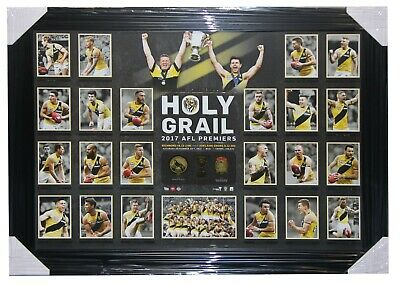 "Richmond 2017 Premiership Embossed Print "" Holy Grail"""