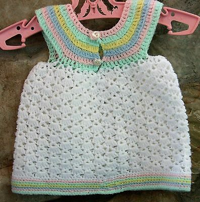 VINTAGE GIRL'S KNITTED VEST ~ 1960's ERA ~ F
