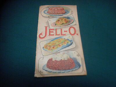 Antique Vintage 1904 JELL-O  Advertising/Recipe Booklet  ~  Le Roy N.Y.