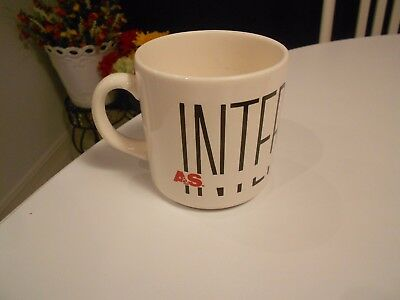 "Vintage A&s Intermission Mug Very Good Condition 3 1/2"" High"