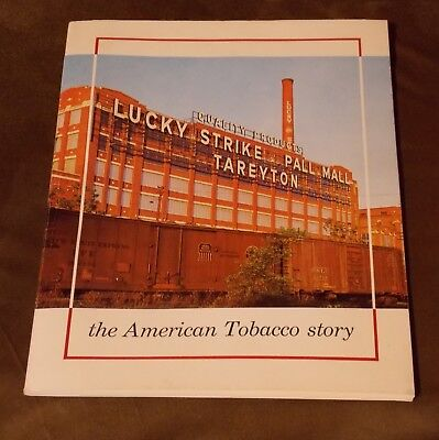 The American Tobacco Story Book 1962 Cigarette Company History Lucky Strike Etc.