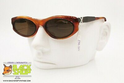 Caramel brown sunglasses VOGART made in italy mod. 3137, oval chubby  sunglasses a7e77a8b3a39