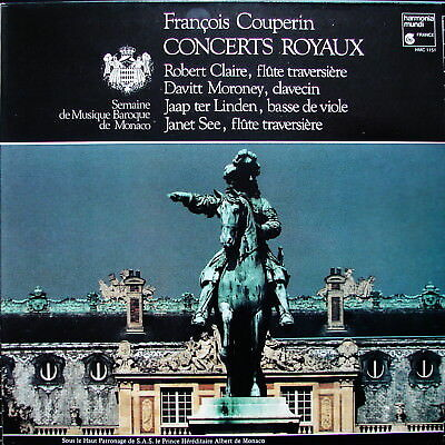 COUPERIN Concerts royaux - CLAIRE MORONEY ter LINDEN SEE - NM-