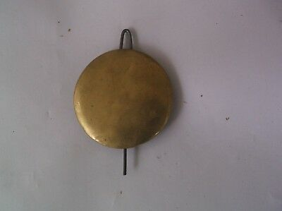 Pendulum Bob From An Old Weight Driven Wall Clock