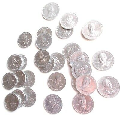30  Shell's Mr.  President Coins ( 15 Different )  & 1 Fact & Faces Coin  1968