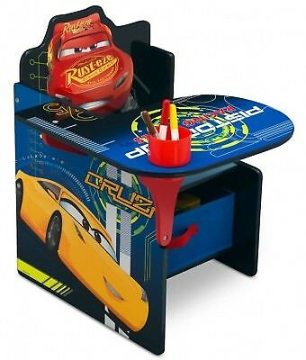 Cars 3 Chair Desk With Storage Bin Suitable for 3 years +