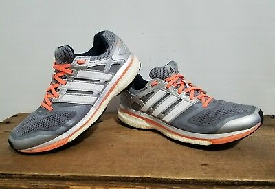 75c3fa860 ADIDAS WOMENS SUPERNOVA Boost Glide 8 Running Shoes S80275 Sz 10.5 ...