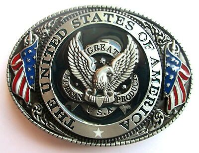 Gürtelschnalle Buckle Metall - The United States Of America