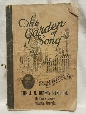 Pre-owned Vintage ~ The Garden of Song by The J. M. Henson Music Co. (1949)