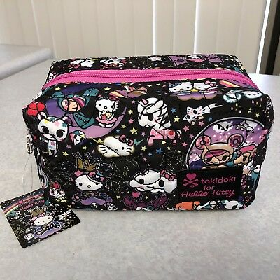 2017 NEW Tokidoki HELLO KITTY Space Cosmic space pouch, pattern placement 💎