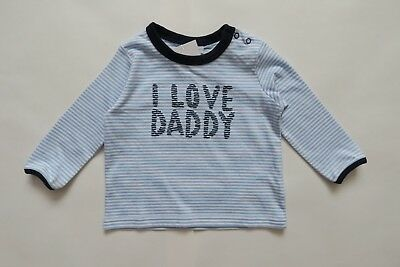 Next T-Shirts I Love Daddy Size 3-6mths