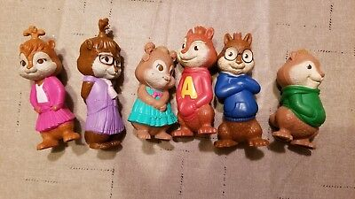 2009 Mcdonald S Alvin And The Chipmunks The Squeakquel Complete Set Of 6 12 99 Picclick