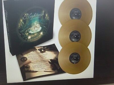 Nightwish - Decades  Exclusive Gold 3 Vinyl Box  500 worldwide Neu NEW