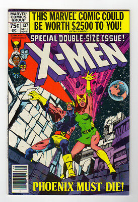 X-MEN #137 Death of Phoenix; Classic issue; VF+/NM-