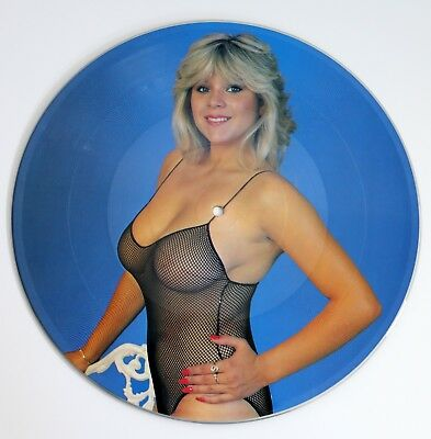"""Samantha Fox Aim to Win 12"""" Vinyl Picture Disc Limited Editionsexy nude GENP3"""