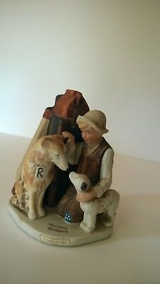 Norman Rockwell Friends in Need Figurine - No Box or COA