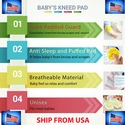 Baby Knee Pad - Kneed pad for kids infants toddler and babies - Knee Protector