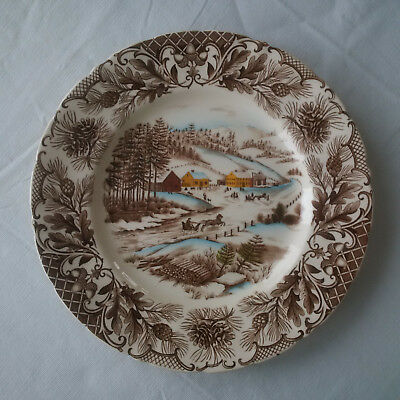 Johnson Brothers Winter Holiday Dinner Plate