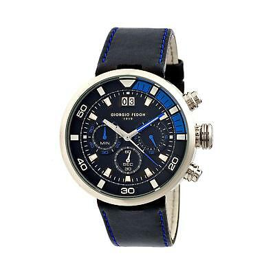 Giorgio Fedon 1919 Speed Timer V Silver/Blue Watch GFBQ004 IWC Dive Homage