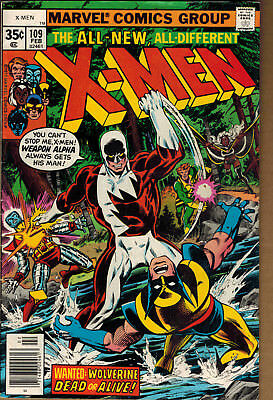 1977 X-Men #109 1st Appearance of Weapon Alpha