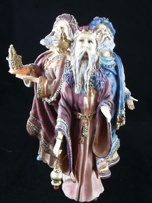 1985 Duncan Royale  MAGI Sculpture L.E. HIstory of Santa II 3 Wise Men Figurine