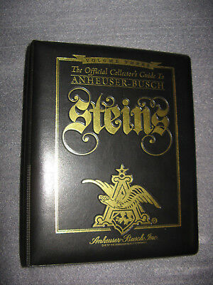 Official Collector's Guide To Anheuser Busch Steins ,Volume III
