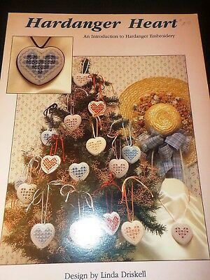 Hardanger Heart An Introduction To Hardanger Embroidery  Craft Leaflet