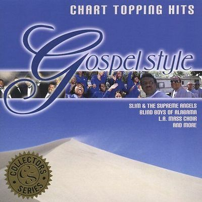 ~BACK ART MISSING~ Various Artists CD Chart Topping Hits Gospel Style: Collector