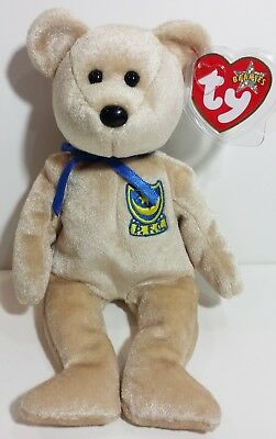 """TY Beanie Babies """"PREMIER"""" the UK EXCLUSIVE Teddy Bear ~ MWMTs! PERFECT GIFT!"""
